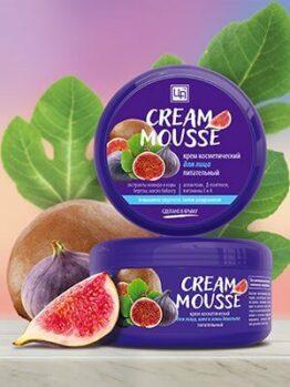 Крем питательный «Cream Mousse» - Для лица, шеи и зоны декольте