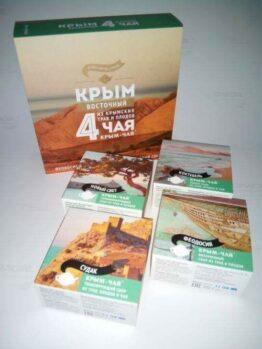 Набор из 4-х сборов из трав и плодов «Крым - Восточный»