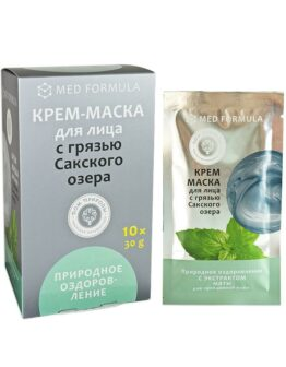 Крем-маска для лица «Природное оздоровление»