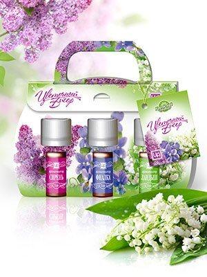 Набор ароматизаторов «Цветочный бисер»