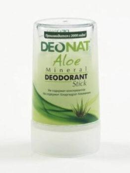 Минеральный дезодорант «DeoNat» с соком алоэ_40 гр.